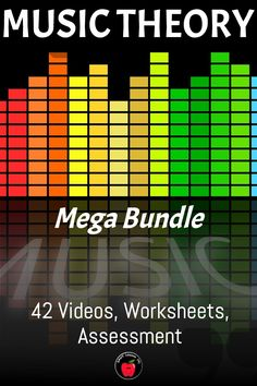 42 movie files - over 70 minutes of video! Includes  note name posters, Teachers Guide, links to online Assessments for Google classroom, reproducible workbook and evaluation pages. UNITS INCLUDE: STAFF - Lines Music Theory For Beginners, Basic Music Theory, Music Activities For Kids, Music For Kids, Digital Dice, Online Music Lessons, Music Lesson Plans, Music Worksheets, Treble Clef