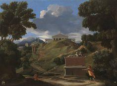 Nicolas Poussin - Landscape with Ruins (c.1634), Museo Nacional del Prado, Madrid