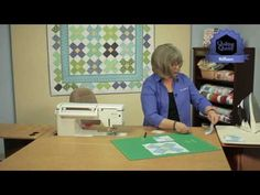 Jodi Barrows demonstrates a few of the Options for the Square in a Square…