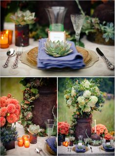 Rustic Fall Wedding Decor Ideas to Bring Nature to Your Reception Wedding Events, Wedding Reception, Rustic Wedding, Our Wedding, Dream Wedding, Wedding Stuff, Wedding Table, Fantasy Wedding, Autumn Wedding