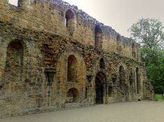 Lay-brothers' Refectory Kirkstall Abbey Leeds Yorkshire
