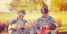 """""""People are comparing breastfeeding in uniform to urinating and defecating in uniform. They're comparing it to the woman who posed in Playboy in uniform [in 2007]We never expected it to be like this.  I'm an X-ray tech and I breastfeed in my uniform all the time. Granted they're scrubs. But people do it all the time in their uniforms. If you have a hungry baby, why would you take the time to change completely?"""""""