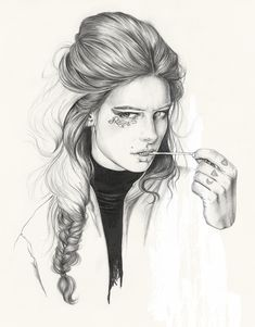Modeconnect.com - Fashion Illustration by Esra Roise