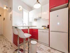 Apartamento reformado: cocina americana
