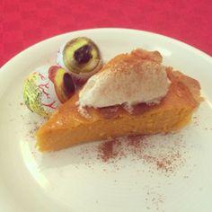 Receta de tarta de calabaza fácil para Halloween