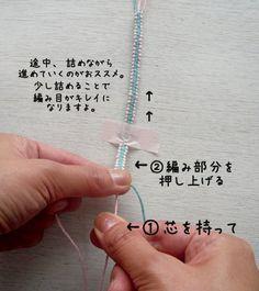 / 基本は「平編み」と「ねじり編み」になります。 まずはこの2つをマスターしまし...