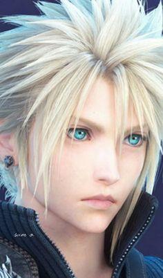Final Fantasy Cloud, Final Fantasy Vii Remake, Zack Fair, Cloud Strife, Fantasy World, Hair Designs, Promised Land, Clouds, Game Art