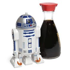 R2-D2 Soy Sauce Dispenser  http://rstyle.me/~H4IJ