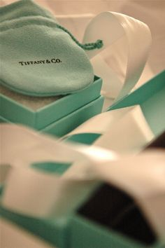 Tiffany boxes