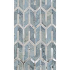 Mosaic for bathrooms. Comes in many color options. Mosaïque Surface - À la Carte Collections