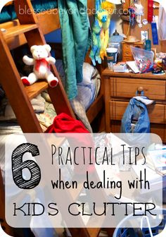 This is a post for all moms that have stepped on a lego. Check out these 6 practical tips when dealing with kids clutter.