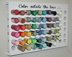 Organize the Paint in Your Craft Room