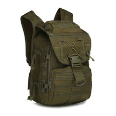 ONGLYP 55L Swordfish Waterproof Camo Tactical Molle Backpack Military Hiking Camping Trekking Camouflage Day Pack -- Additional info  : Womens hiking backpack