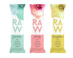 Raw Bar Branding and Packaging                                                                                                                                                                                 More Juice Branding, Juice Packaging, Seed Packaging, Beverage Packaging, Food Packaging Design, Bottle Packaging, Brand Packaging, Cereal Bars, Nutrition Bars
