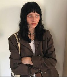 Grunge Look, Style Grunge, 90s Grunge, Grunge Outfits, Soft Grunge, Cut My Hair, Hair Cuts, Princesa Punk, Hairstyles With Bangs