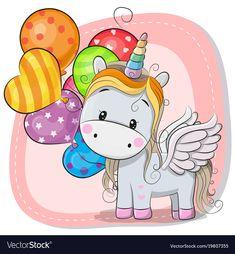 cbd77da3ba1 29 Best Cartoon unicorn images