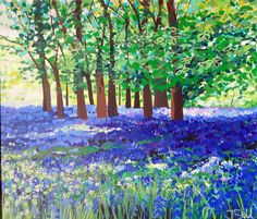 'Gallants bower bluebells' by Janet Bell