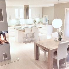 21 Modern Kitchen Area Suggestions Every Home Prepare Needs to See Interior Design Inspiration, Home Decor Inspiration, Fitness Inspiration, Kitchen Interior, Kitchen Decor, Kitchen Layout, Home Interior, Küchen Design, House Design