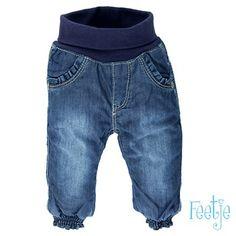 Meisjes jeans gevoerd. Verkrijgbaar in maat 56 t/m 68