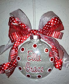 Had to pin this just because my daughter is named Eleanor Grace! Christmas Crafts For Kids, A Christmas Story, Christmas Dog, Holiday Crafts, Holiday Fun, Christmas Holidays, Christmas Bulbs, Holiday Ideas