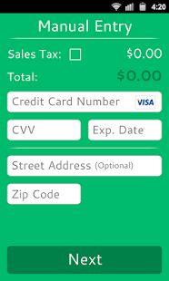 Credit Card Reader– Vignette de la capture d'écran