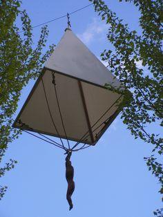 The parachute(crédit photo: Léonard de Serres)