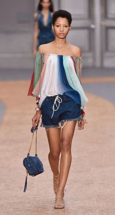 Look 21 from the Chloé Spring-Summer 2016 collection