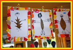 34 Ideas para el Otoño - Alumno On Fall Arts And Crafts, Autumn Crafts, Autumn Art, Nature Crafts, Autumn Theme, Autumn Activities For Kids, Fall Preschool, Art Activities, Preschool Crafts