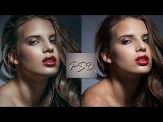 Волшебный метод быстрой ретуши кожи - YouTube
