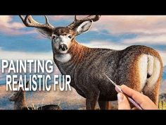 How To Paint Beautiful Fur - YouTube