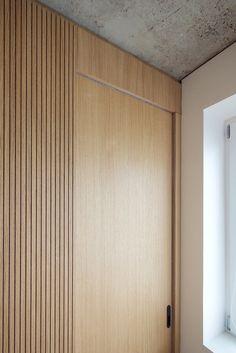 Gallery of Minimalist Apartment in Prague / COLLARCH - 12 Minimalist Apartment in Prague,Courtesy of Detail Architecture, Interior Architecture, Apartment Layout, Apartment Interior, Prague Apartment, Parisian Apartment, Apartment Living, Interior Exterior, Interior Design