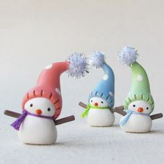 I used to make snowmen like these. Pinning to remind me to make more!