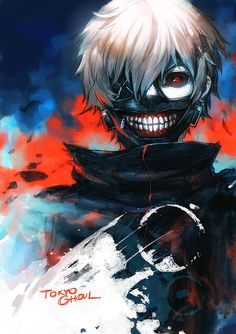 Tokyo Ghoul ☆ Keneki Ken ;d This was done by one of my fav digital artist on deviantart as well! X)