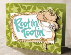 Yee-haw! This project was made using the new photopolymer stamp set from Stampin' Up! 25 stamps in this set… check out the details and other projects you can make!