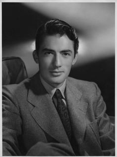 Gregory Peck, 40's.