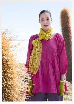Tunic from organic cotton / silk 67601-36.jpg