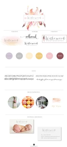 willow wood photography branding by hamptons designs