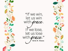 """In the competitions of life, if we win, let us win with grace. If we lose, let us lose with grace. For if we live with grace toward one another, grace shall be our reward at the last day."" From #ElderDuncan's inspiring #LDSconf http://facebook.com/223271487682878 message http://lds.org/general-conference/2016/04/the-healing-ointment-of-forgiveness #LDS #Mormon #Grace #Love #Forgiveness #Christian #Discipleship #ShareGoodness"