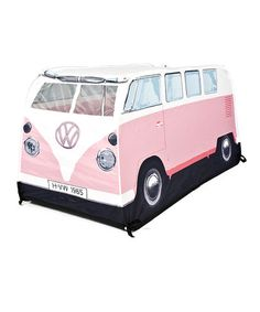 Take a look at this Pink Volkswagen Play Tent by The Monster Factory on #zulily today!