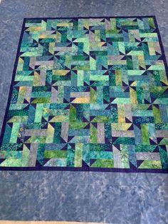 Batik Quilts, Jellyroll Quilts, Scrappy Quilts, Mini Quilts, Strip Quilt Patterns, Jelly Roll Quilt Patterns, Strip Quilts, Rail Fence Quilt, Bright Quilts