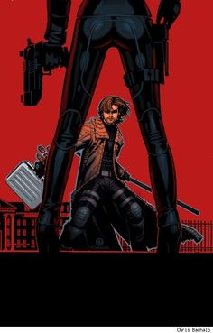 Gambit #1 (Marvel), variant cover by Chris Bachalo