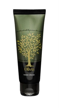 The special formula for Olivia Hand Cream blends the nourishing benefits of Olive extracts, almond oil and vitamins.  The result is a unique blend of moisture softness and natural seal for your hands.  Enjoy the benefits of a unique blend of anti-ageing, emollient and antioxidant products.  Olivia Hand Cream protects your skin from the premature aging and growth claws.  Parabens free, no artificial color, no animal origin, propylene glycol free.