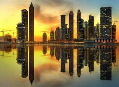 Business bay of Dubai, UAE by Vasyl Onyskiv - Photo 185918581 / 500px