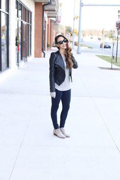 b.y.o. beauty: leather jacket, Sam Edelman petty
