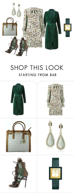 """Untitled #3206"" by deirdre35 ❤ liked on Polyvore featuring Miss Selfridge, Karen Kane, Dsquared2 and Tory Burch"