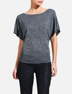 Marled Dolman-Sleeve Sweater | Women's Sweaters | THE LIMITED