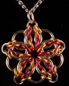 Chainmaille Tutorial - Celtic Visions Star Pendant (Beginner) …
