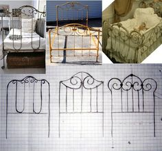 Pequeñeces: Soldar alambre galvanizado (Preludio)  Creating wrought iron furniture - Spanish