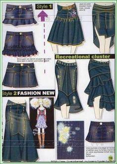 Tus jeans favoritos que ya no puedes ponerte por la razón que sea, pueden transformarse en otra prenda y así podrás seguir usándolos.   Un ...