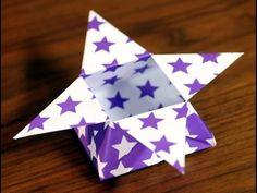 Origami - Caja estrella - Nicolas Delgado